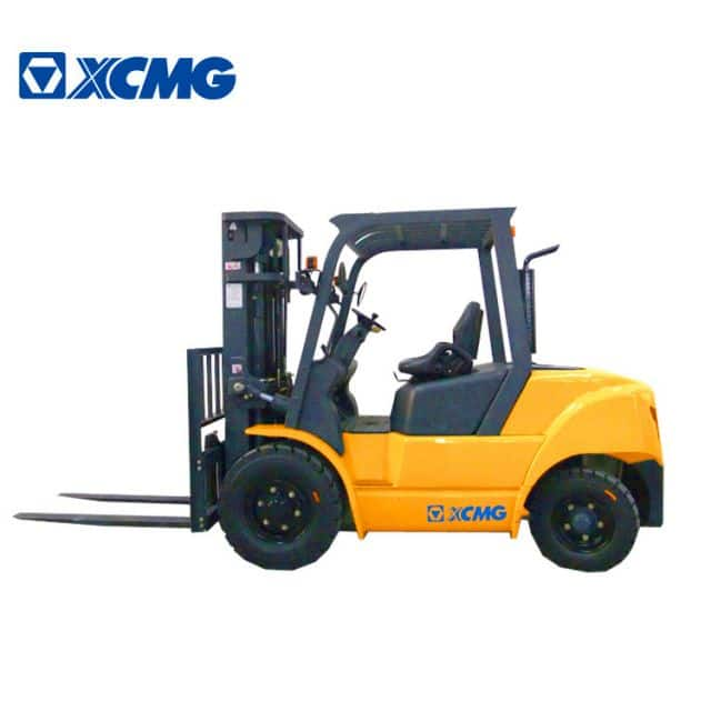 XCMG Official Manufacturer 5 ton Diesel Forklifts FD50T china new diesel forklift truck for sale