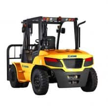 XCMG 5T Diesel Forklift FD50T ISUZU Diesel Engine with Fork Positioner for sale