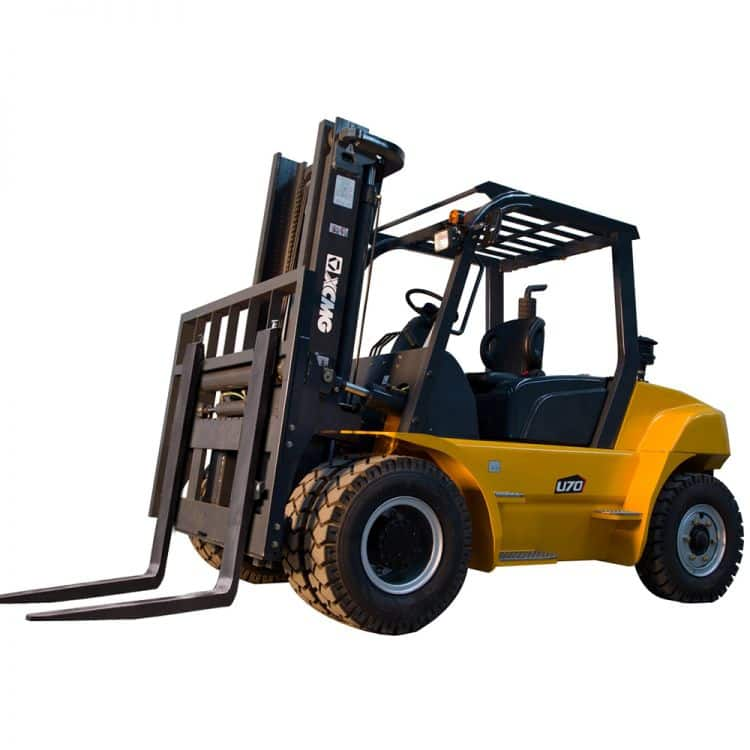 XCMG FD60T Diesel Forklift 6 Ton with Triplex Mast and Solid Tyre