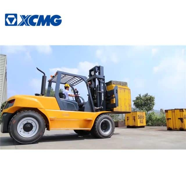 China XCMG brand 6 tons diesel forklift machine FD60T for sale
