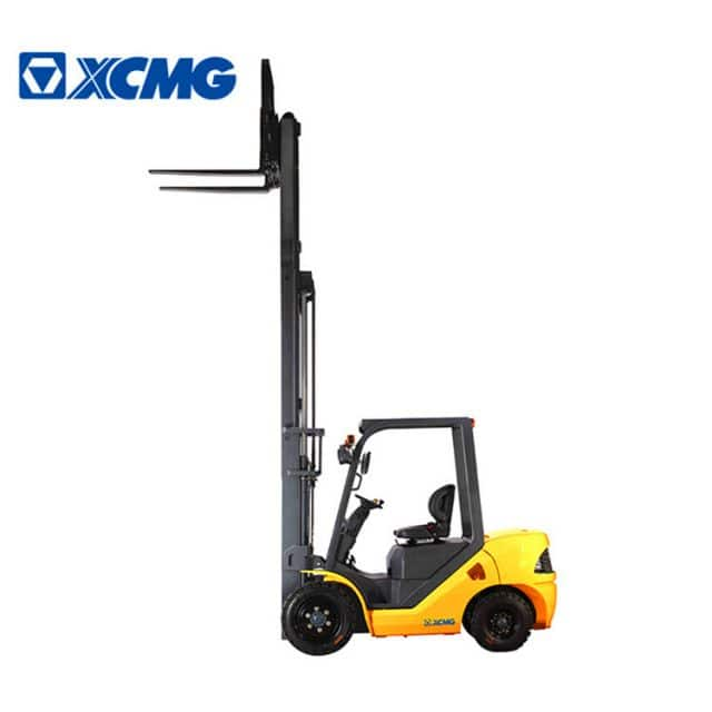 XCMG new 8 ton diesel forklifts FD80T China diesel forklift truck machine with spare parts for sale