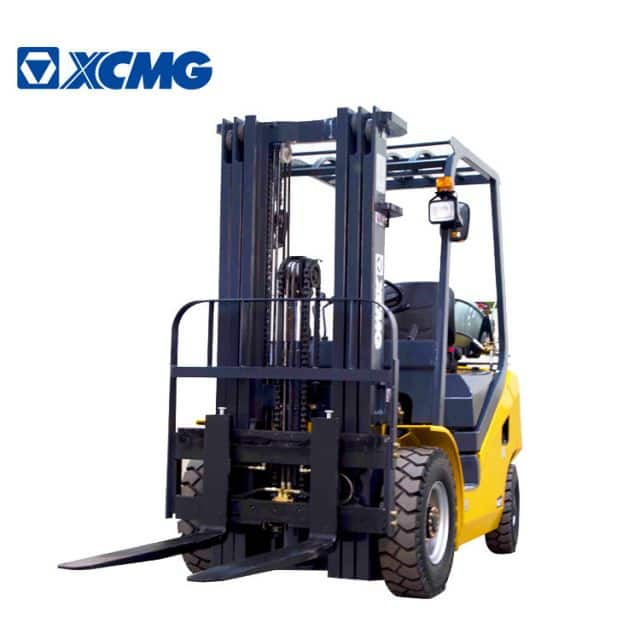 XCMG 1.5 Ton Mini Forklift Truck China Gasoline LPG Fork Lift Trucks FGL15T For Sale