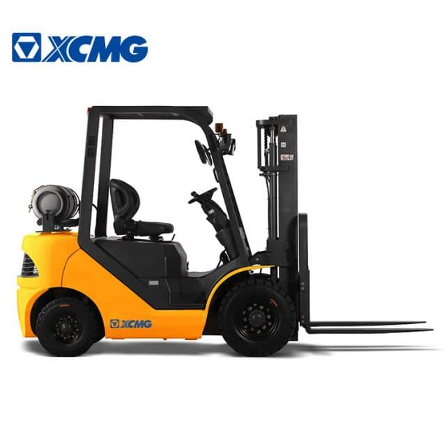 XCMG Fork Lift Trucks 2.5 Ton Gas Forklifts Engine 5000 LB LPG Forklift Propane Machine FGL25T Price