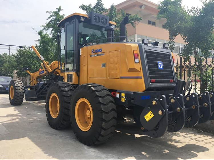 XCMG mini motor grader machine GR180DXI spare part grader transmission gearbox and engine part price