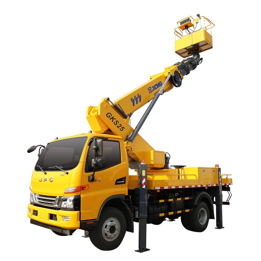 XCMG 9m truck mounted folding XGS5040JGKQ6 aerial platform lifting truck price