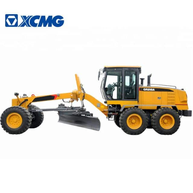 XCMG Road Machines For Construction 215hp China Grader Motor GR215A For Sale