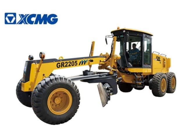 XCMG Motor Graders 220 HP China Road Construction Machines GR2205 With Hydraulic Pump Price