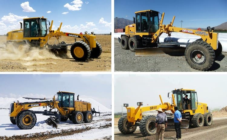 XCMG official GR2405 250HP China mining motor grader price