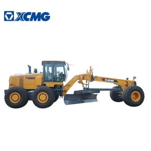 XCMG 300 HP Mining Machinery Equipment New Motor Graders GR3003 With Cummins Engine Price