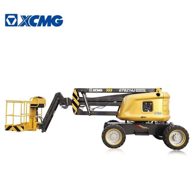 XCMG official 14m China electric articulating boom lift GTBZ14J self-propelled equipment price