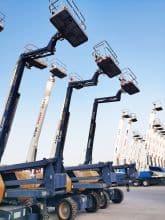 XCMG official 18m cheap articulated boom lift GTBZ18 China discount boom lift equipment on sale