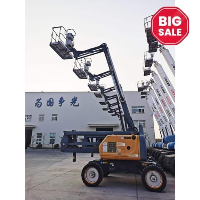 XCMG official 18m cheap articulated boom lift GTBZ18 China discount boom lift equipment on sale