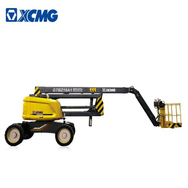 XCMG 18m articulated boom lift GTBZ18A1 self-propelled articulating boom lift for sale