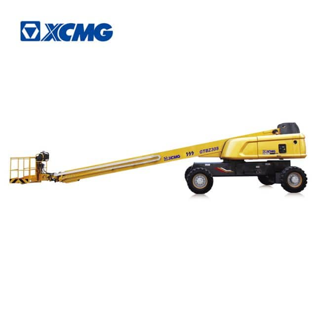 XCMG official 30m china hydraulic self propelled telescopic boom lift machine GTBZ30S for sale