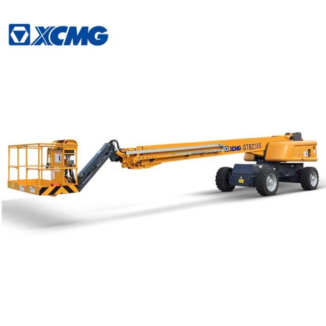XCMG 38m Telescopic Boom Lift GTBZ38S Hydraulic aerial work platform for sale