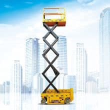 XCMG Official 6m Scissors Aerial Work Platform GTJZ0607E (Euro Stage V) for sale