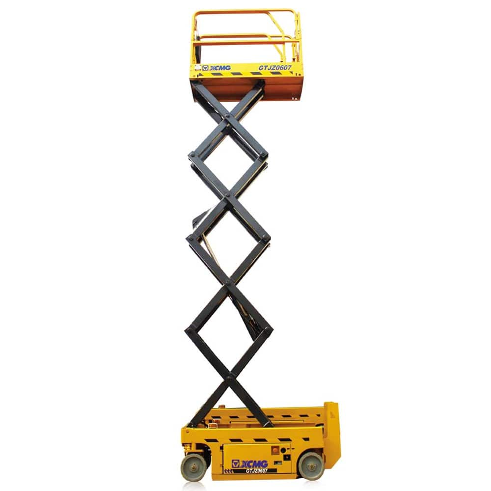 XCMG Official 6m Scissor Lift GTJZ0607 for sale_scissor lift