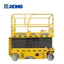 XCMG Official 8m Hydraulic Scissor Lift GTJZ0808 China Electric Aerial Working Platform price for sale