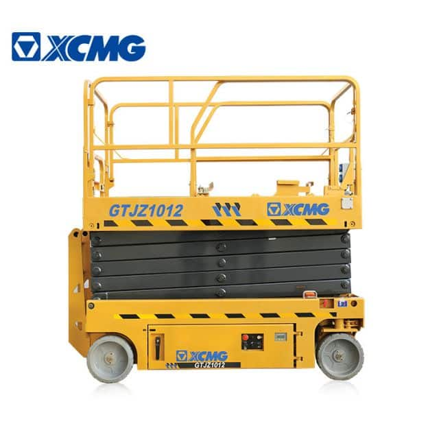 XCMG Official 12m Scissor lift GTJZ1012 Aerial Work Platform price for sale