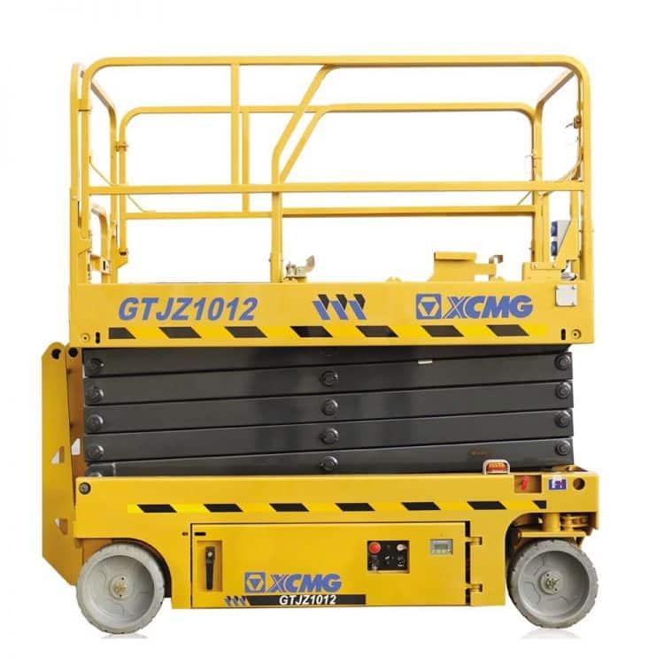 XCMG Official Manufacturer 10m Scissor Lift GTJZ1012