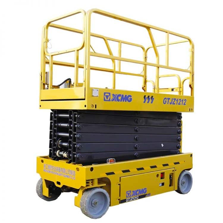 XCMG Official 12m Scissor Lift GTJZ1212 for sale