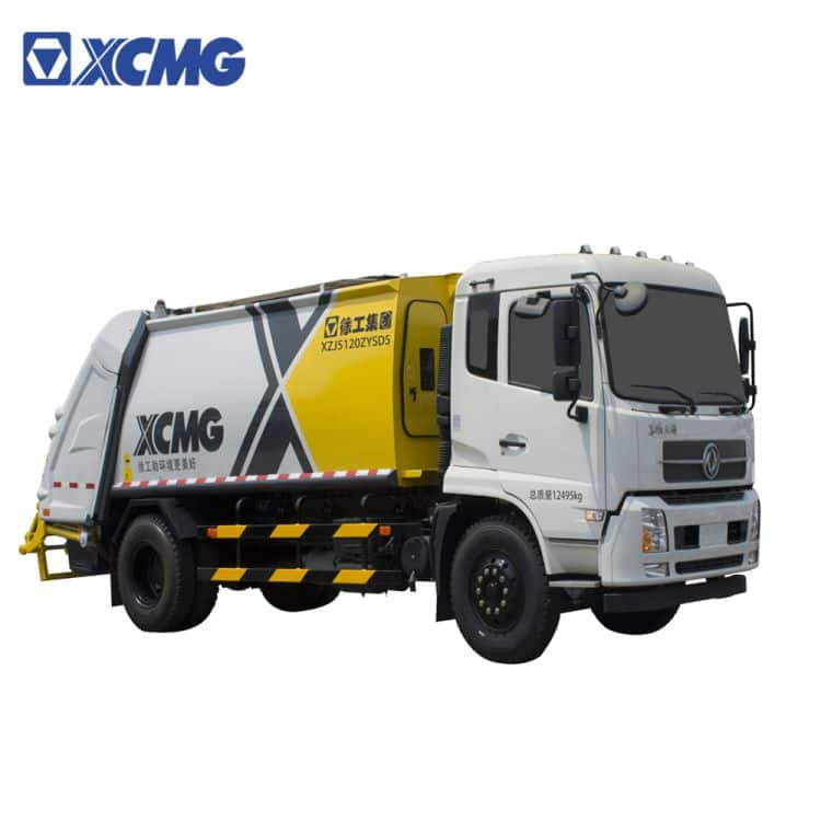 XCMG Official Garbage Trucks  6-24 Cbm Garbage Compressed Truck for sale