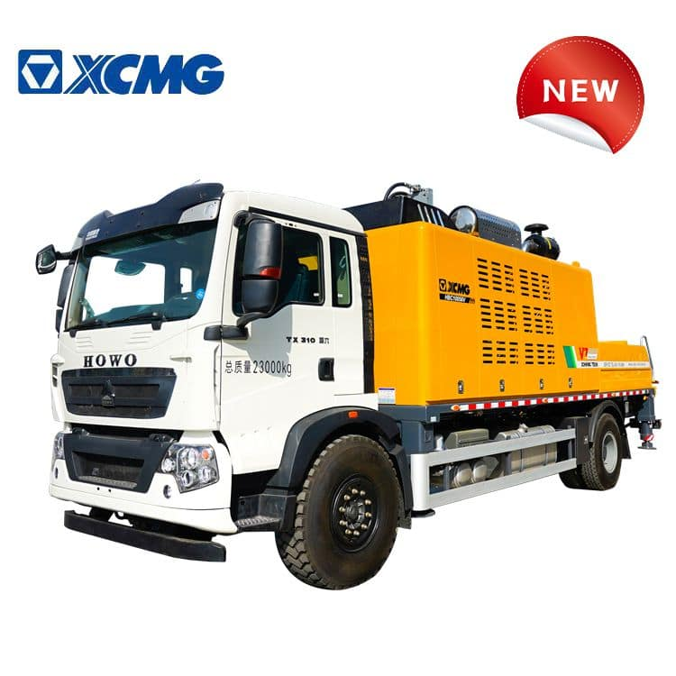 XCMG Schwing Concrete Truck with Pump HB10050V China Concrete Line Pump Truck