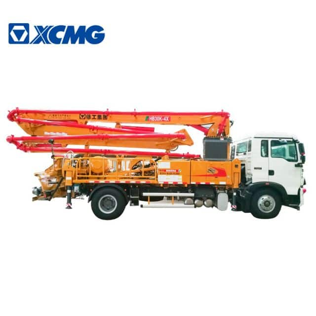 XCMG official 30m concrete pump truck HB30K China mini small truck mounted concrete pump truck price
