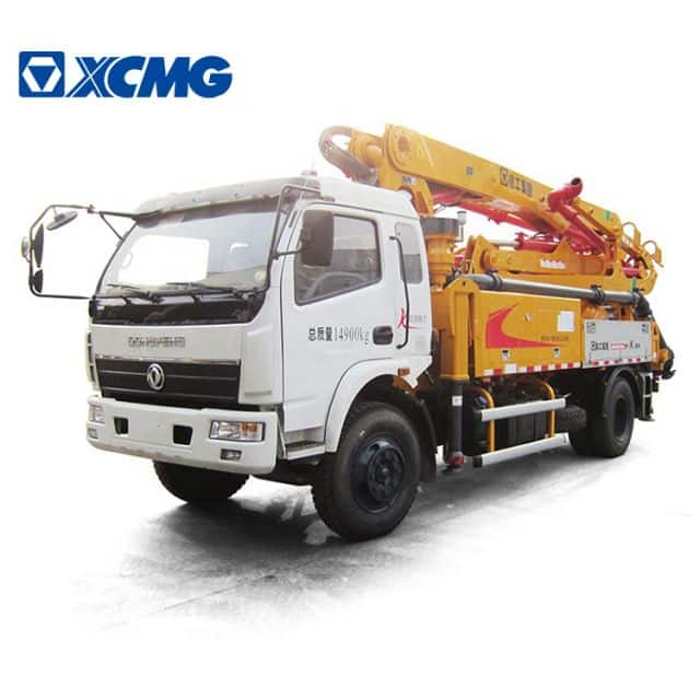 XCMG Schwing Official 50m mobile concrete pump HB50V China truck mounted concrete pump price