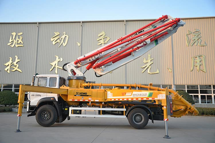 XCMG Official 37m Truck Mounted Concrete Pumping Machine HB37V Price