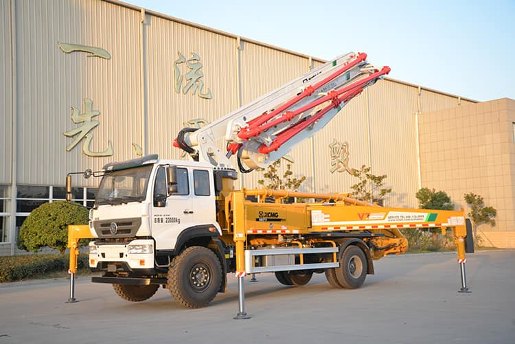 XCMG Official HB37V 37m Small Concrete Pump Trucks for Sale