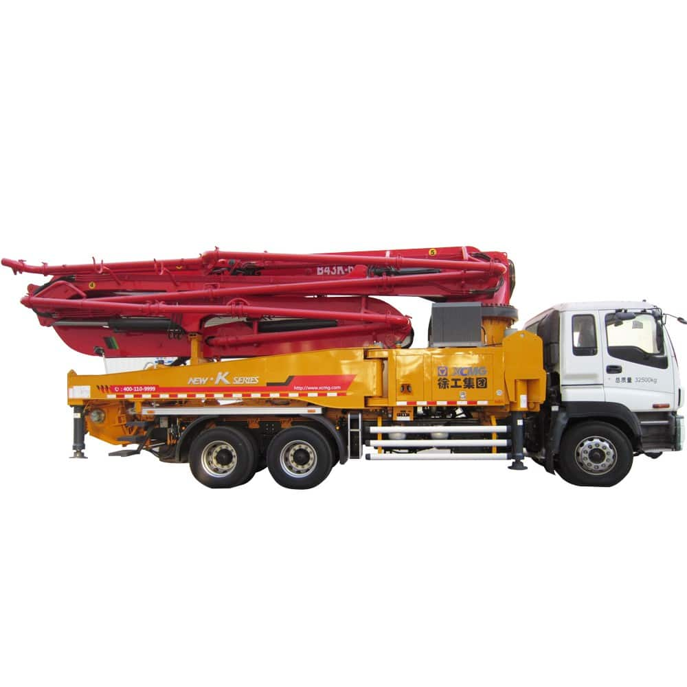 XCMG Official HB43K Truck-mounted Concreted Boom Pumps for sale