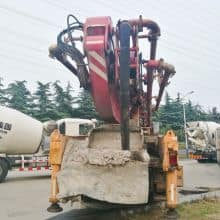 XCMG Used HB46 Truck-Mounted Concreted Boom Pumps for sale