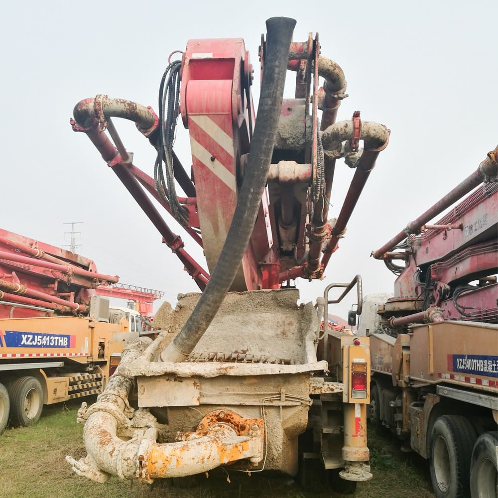 XCMG Used HB46A Truck-Mounted Concreted Boom Pumps for sale