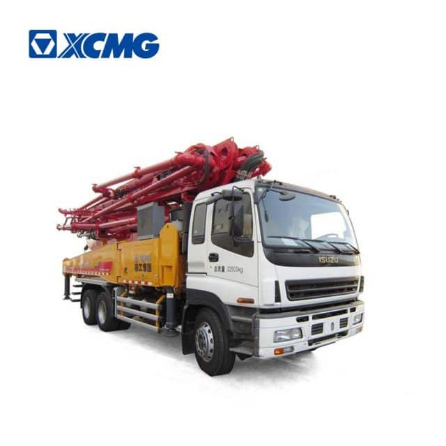 XCMG Schwing Official 48m mobile concrete pump HB48K China truck mounted concrete pump price