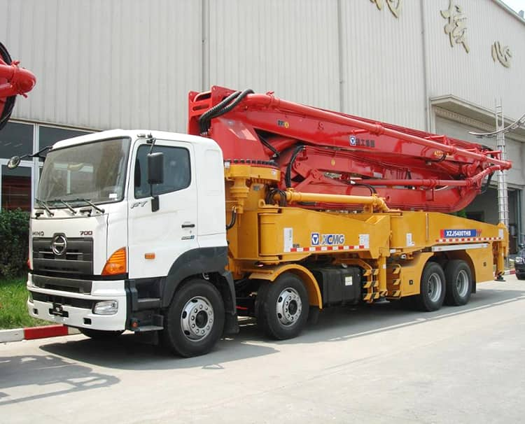 XCMG Manufacturer HB48K 48m Boom Pump Concrete Pump Truck with Good Price