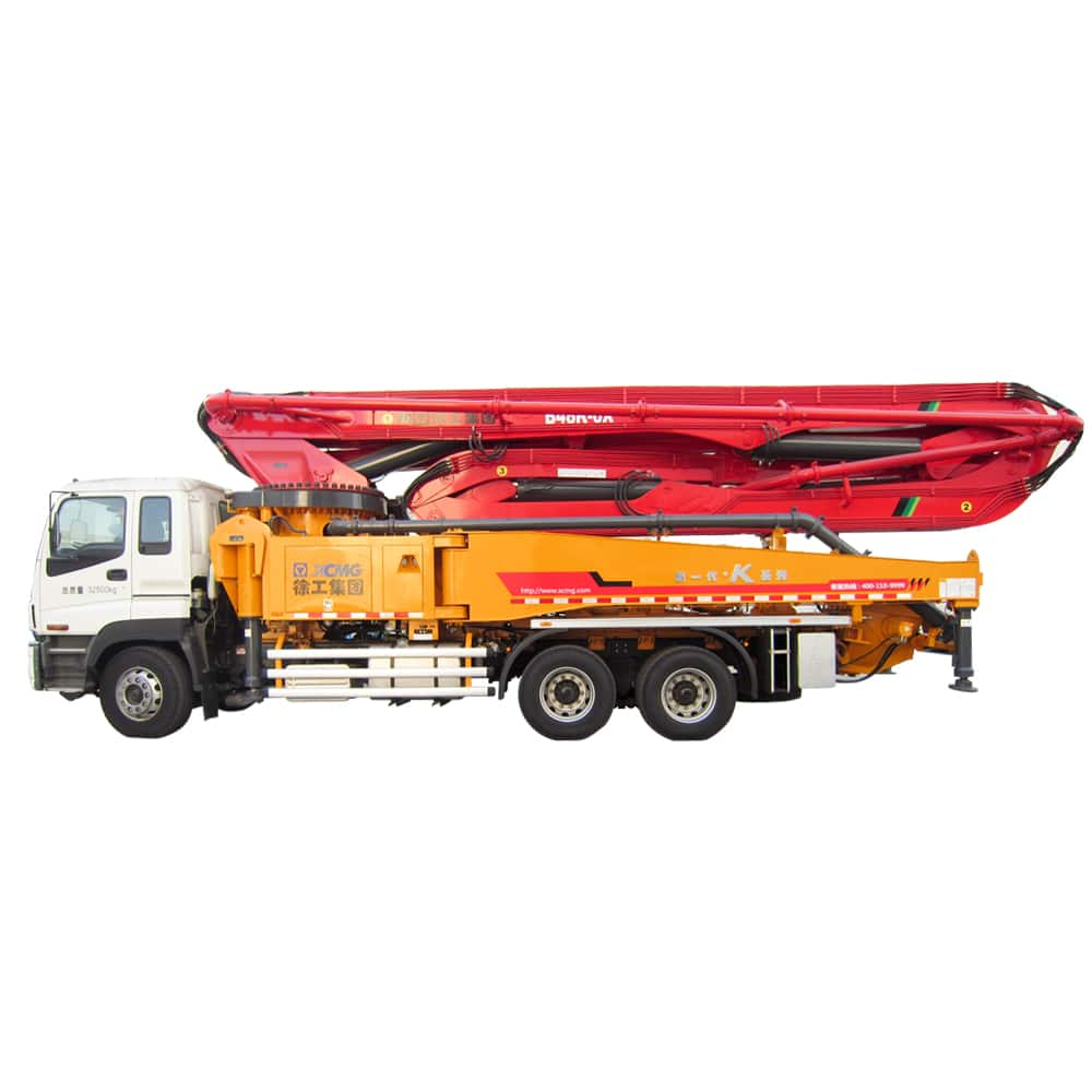 XCMG Official HB48K Truck-mounted Concreted Boom Pumps for sale