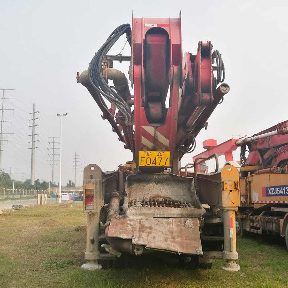 XCMG Used HB52A Truck-Mounted Concreted Boom Pumps for sale