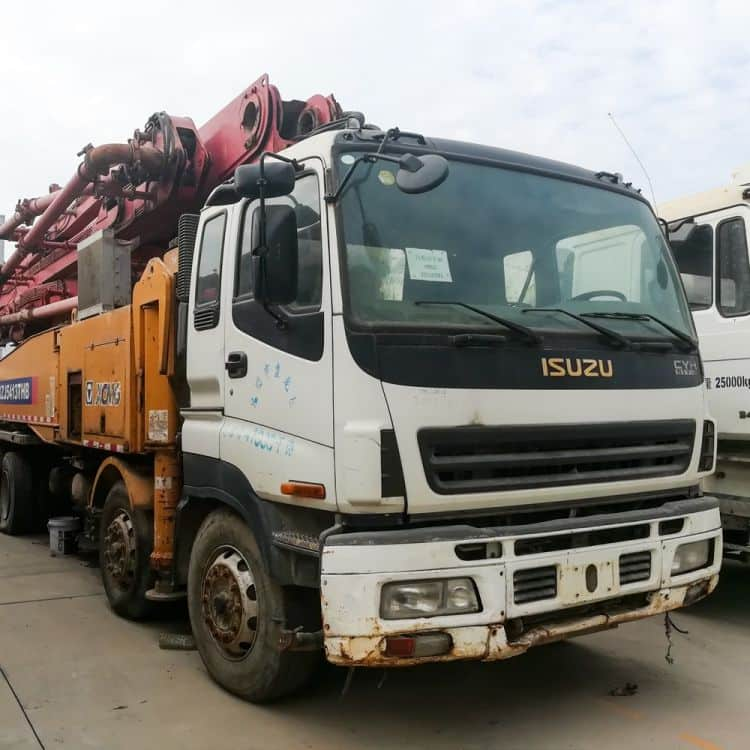XCMG Used HB52A-I-B20110781 Truck-Mounted Concreted Boom Pumps for sale