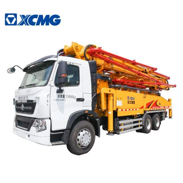 XCMG Official 52m Cheap Price Concrete Pump Machine HB52V concrete pump truck price for sale