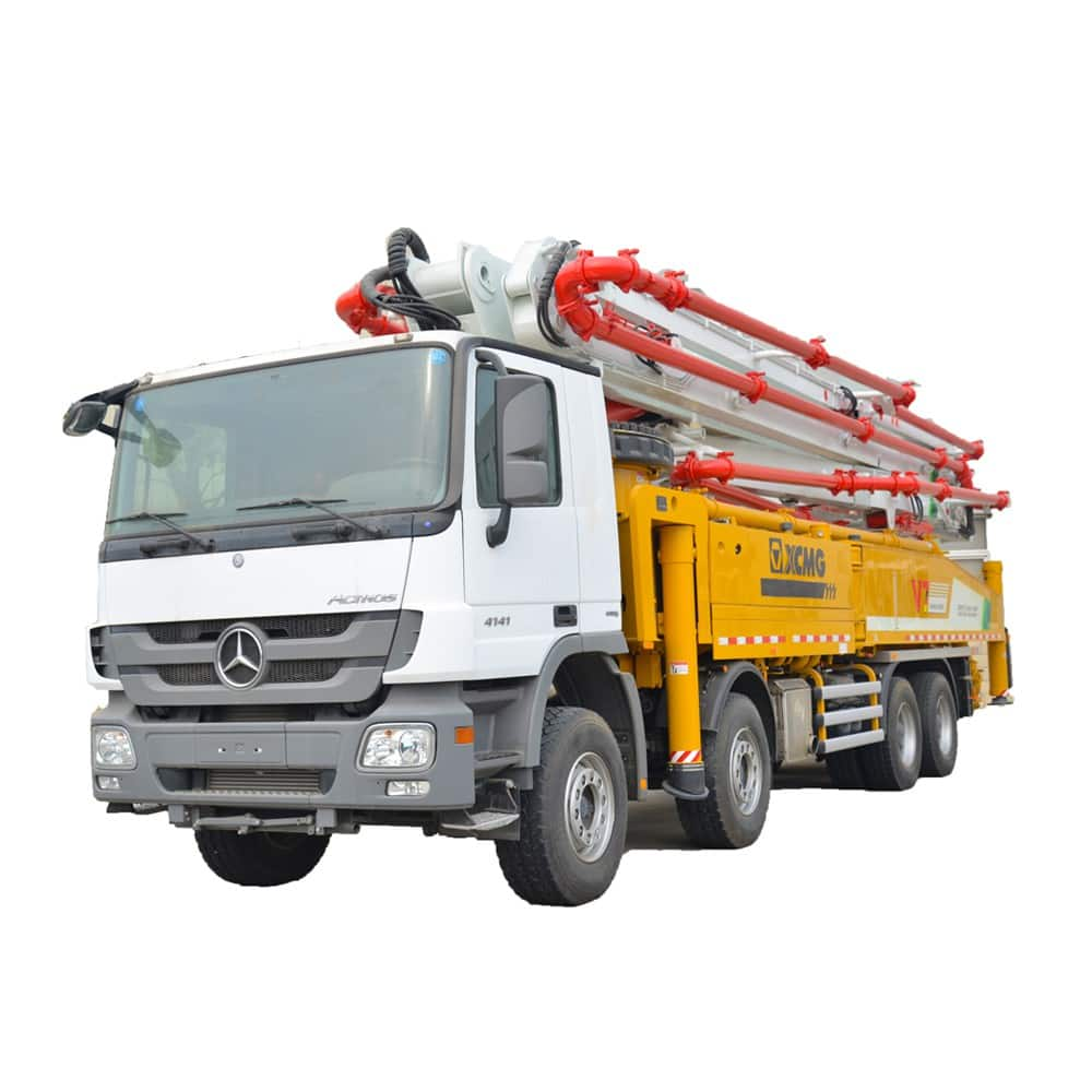 XCMG Official HB58K Truck-Mounted Concreted Boom Pumps for sale