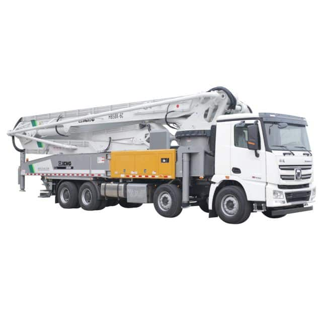 XCMG Official HB58V Truck-mounted concrete boom pump for sale