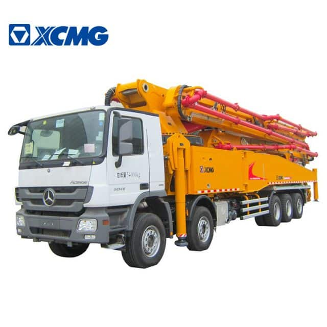 XCMG Official top brand 67m HB67K new diesel truck mounted concrete pump truck boom price sizes for sale