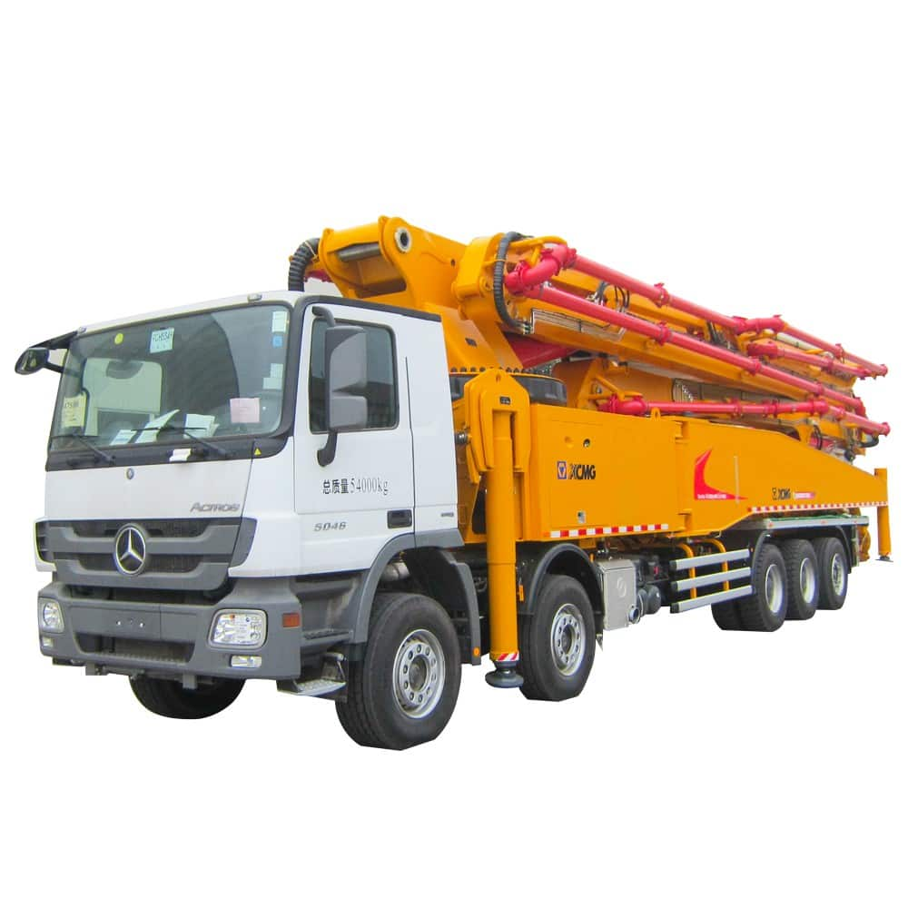 XCMG Official HB67K Truck-mounted Concreted Boom Pumps for sale