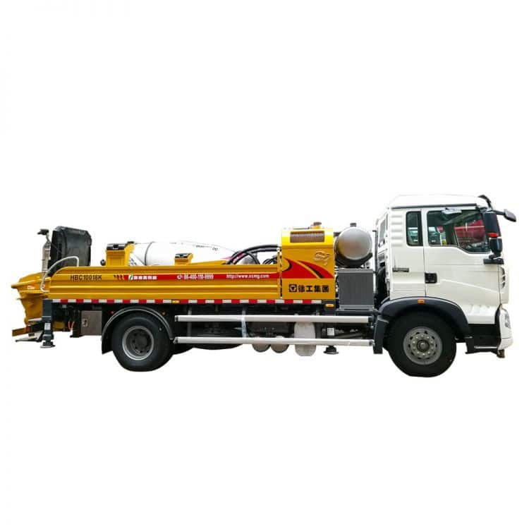 XCMG Official HBC10018K Truck-mounted Concrete Line Pump for sale