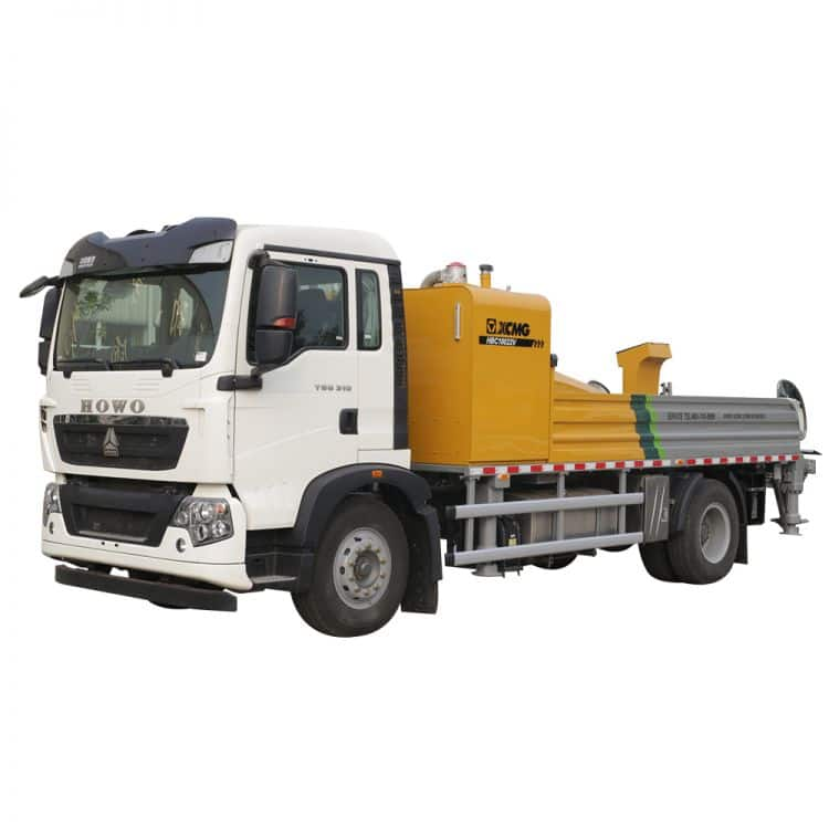 XCMG Official HBC10022V Truck-mounted Concrete Line Pump for sale