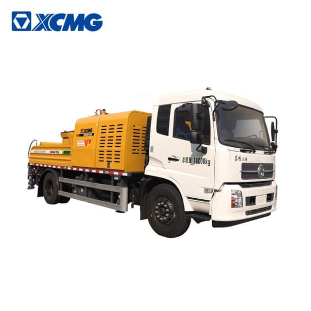 XCMG Schwing 132kW truck mounted concrete pump HBC9018VD China new concrete pumps truck machine pric