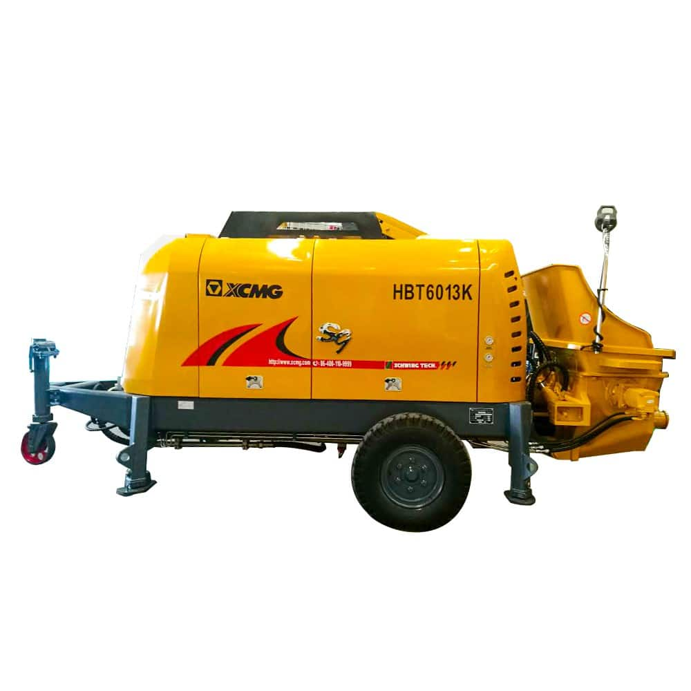XCMG Official HBT6013K Trailer-mounted Concrete Pump for sale