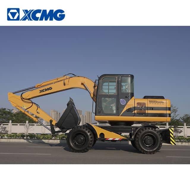 XCMG wheel excavator HNE150W China new 15 ton excavator with spreader and Cummins engine price