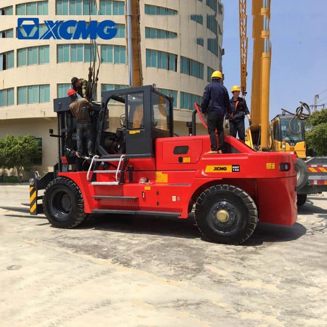 XCMG counterweight diesel forklift HNF-150 China hydraulic heavy duty forklift